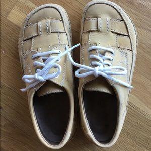 Birkenstock lace up shoes